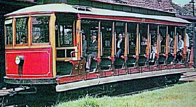 Woodside Trolley Cars- Do you remember?